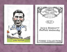 Sheffield Wednesday Jackie Marriott 21 (FC)